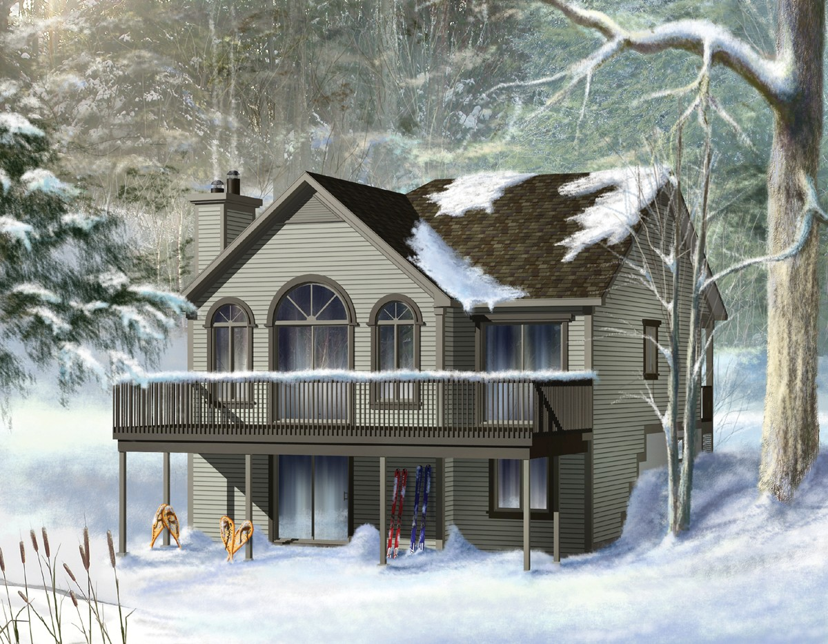 Cozy cottage house plan 80553pm 1st floor master suite for Cottage house plans with basement