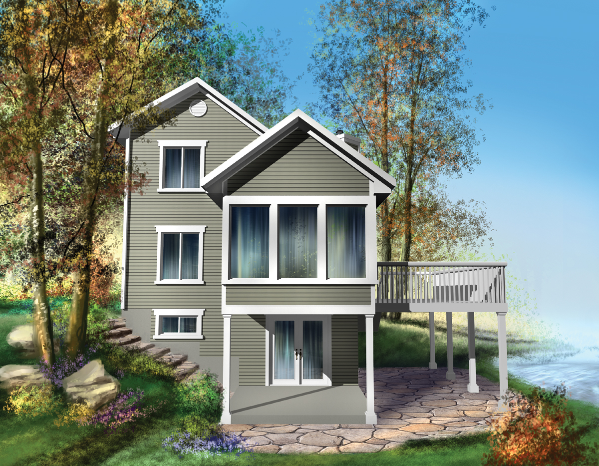 vacation cottage plans beautiful vacation home plan 80561pm architectural designs house plans 5616