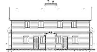 Two Family Home Plan - 80579PM thumb - 08