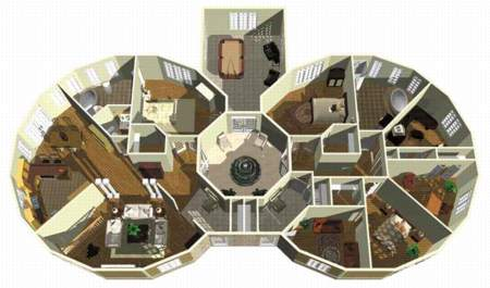 Multigenerational home plan 80599pm architectural for Multi generational home designs