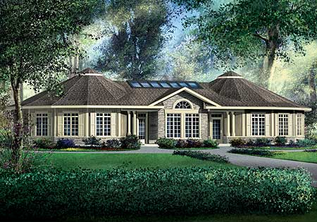 Multigenerational home plan 80599pm architectural for Multigenerational homes plans