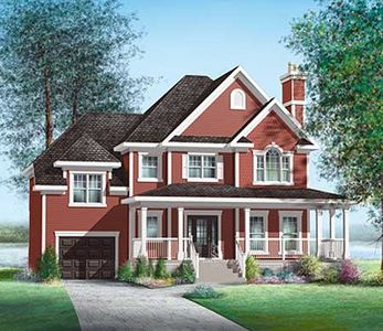 Spacious Two Story House Plan Pm Thumb