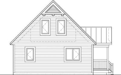Vacation Cabin With Reading Loft 80680pm Architectural