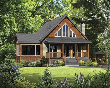 mountain chalet house plans classic mountain cabin 80685pm architectural designs 20907