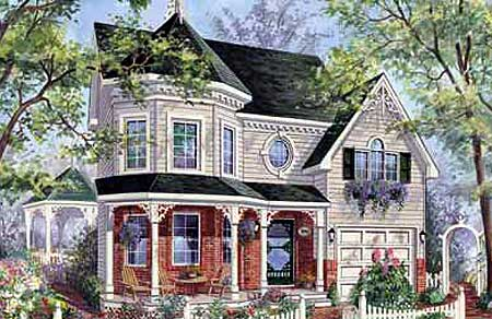 Compact victorian 80702pm 2nd floor master suite cad for Canadian country house plans