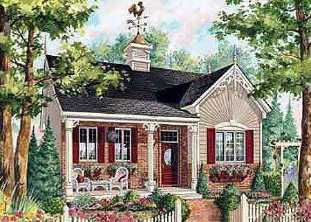 Cozy cottage 80705pm architectural designs house plans for Cozy cottage home plans