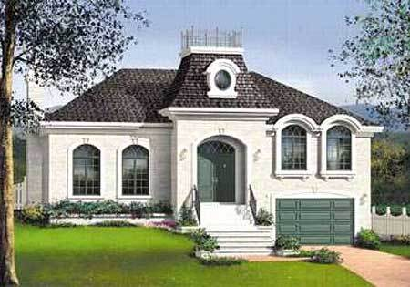 Southern Charm 80722pm Architectural Designs House Plans: southern charm house plans