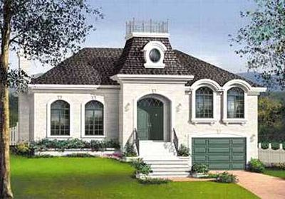 Southern charm 80722pm architectural designs house plans for Southern charm house plans