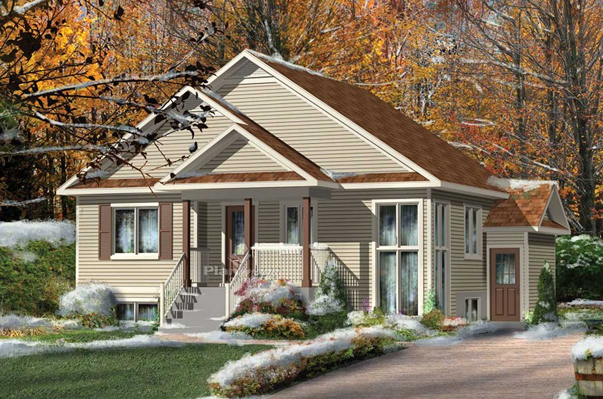Multi generational house plan 80733pm architectural for Multi generational house plans