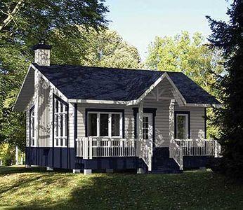 Cottage Getaway 80734pm 1st Floor Master Suite Cad