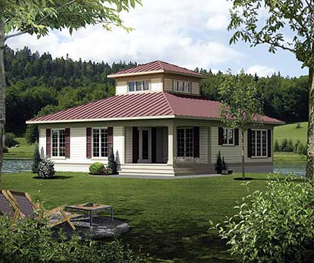 Cupola retreat 80746pm architectural designs house plans for Cupola plans pdf