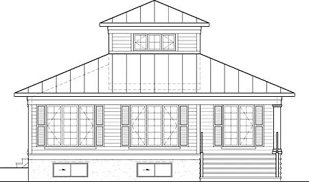 Cupola retreat 80746pm 1st floor master suite cad for Cupola plans pdf