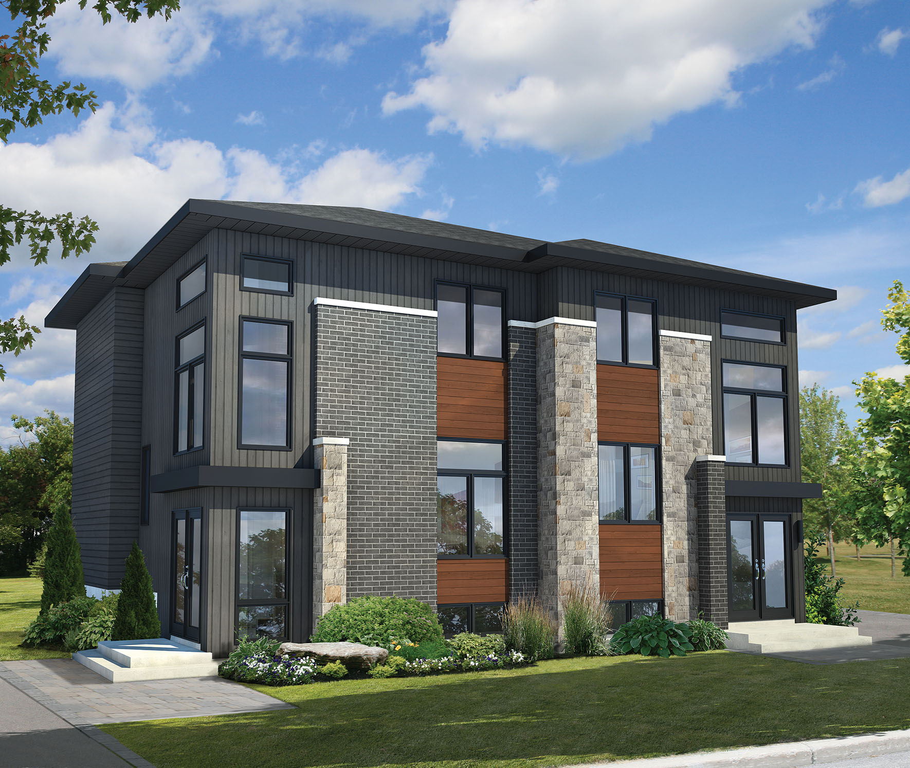Multi-Family Modern - 80781PM