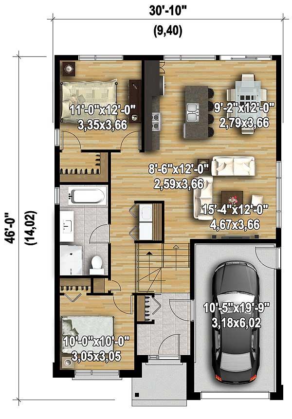 10 Floors Level 46