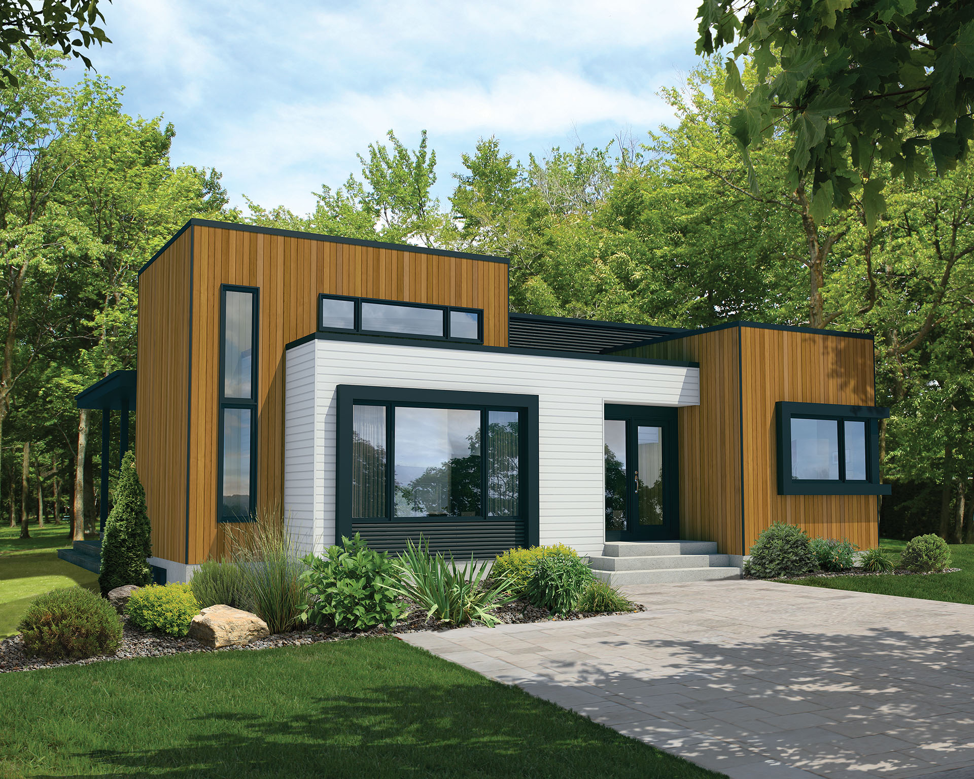 Contemporary starter house plan 80824pm architectural for Starter house plans