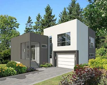 Noteworthy Modern House Plan 80825pm Architectural