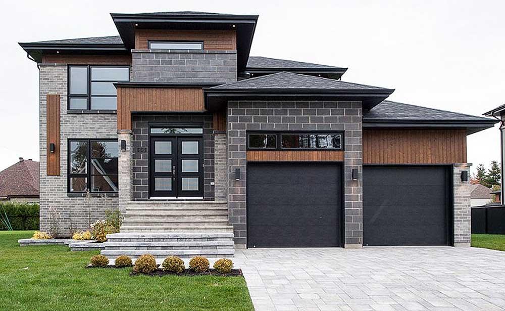 Multi-Level Modern House Plan - 80840PM