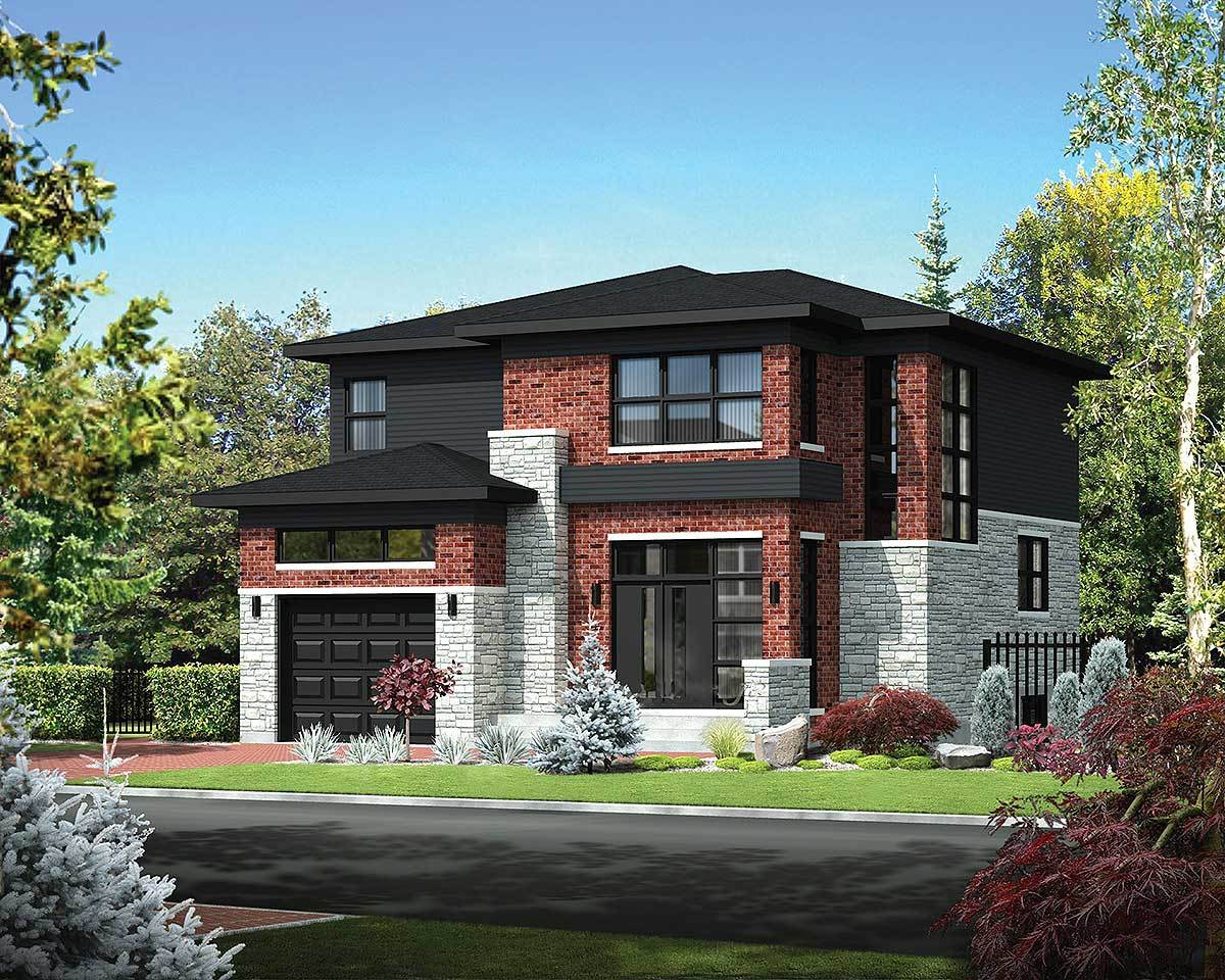 Two story northwest house plan 80847pm architectural for Nw home design