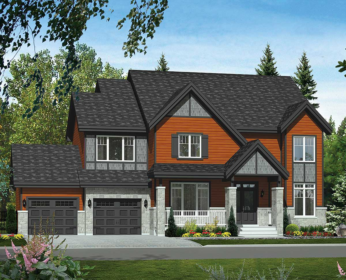 Eye catching northwest house plan 80852pm for Northwest house designs