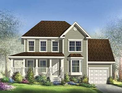 Traditional two story with wrap around porch 80853pm for Two story house with wrap around porch