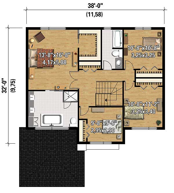Northwest House Plan With Transoms 80854pm