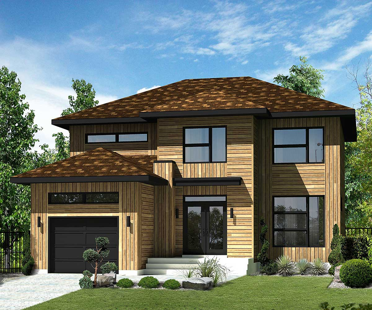 Northwest house plan with transoms 80854pm for Northwest house designs