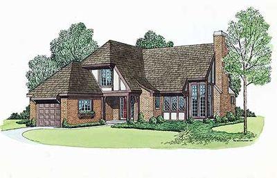 Charming Tudor Home Plan - 81008W thumb - 01