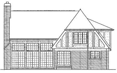 Charming Tudor Home Plan - 81008W thumb - 02