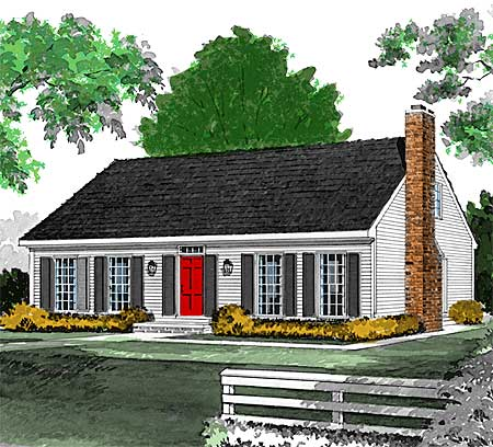 Easy living 81016w architectural designs house plans for Easy living home