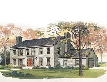 Classic colonial 81019w architectural designs house for Classic colonial house plans