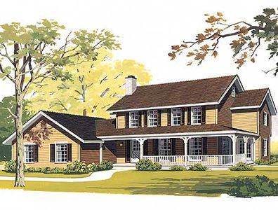 Classic Farmhouse Plans classic farmhouse plan - 81057w | architectural designs - house plans