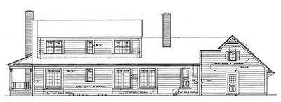 Cozy Traditional Farmhouse - 81081W thumb - 02
