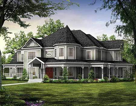 Magnificent victorian estate home plan 81117w for Large estate house plans
