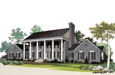 Stately columns 81152w architectural designs house plans for Stately house plans