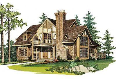Quaint tudor cottage 81167w architectural designs for Tudor cottage house plans