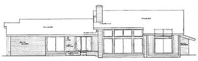 Grand Contemporary Ranch Home Plan - 81180W thumb - 02