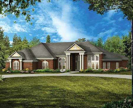 Exquisite classical detailing 81301w architectural for Exquisite home designs
