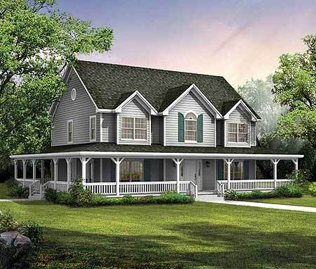Symmetrical Gables 81318W Architectural Designs House Plans