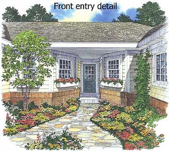 Home plan with entry courtyard 81320w architectural for Courtyard entry house plans