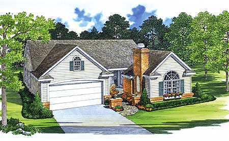 House Plan With Entry Courtyard 81321w Architectural