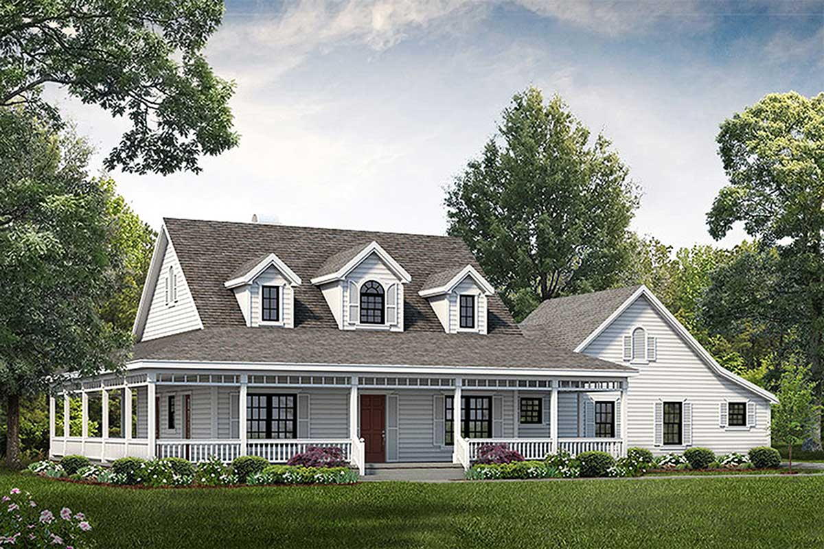 Classic 3 bed farmhouse plan 81331w architectural for Architecturaldesigns com house plan 56364sm asp