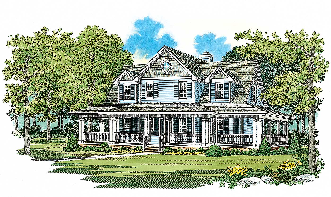 A touch of tradition 81333w architectural designs for Architecturaldesigns com house plan 56364sm asp