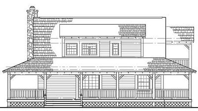 Country Farmhouse with Contemporary Appeal - 81340W thumb - 02