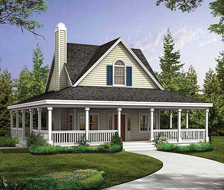 quaint country style cottage 81350w architectural designs house plans. Black Bedroom Furniture Sets. Home Design Ideas