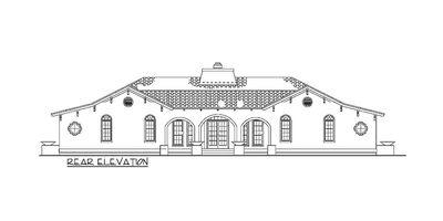 Open Courtyard Dream Home Plan - 81384W thumb - 03