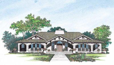 Open Courtyard Dream Home Plan - 81384W thumb - 02