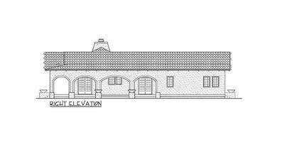 Open Courtyard Dream Home Plan - 81384W thumb - 05