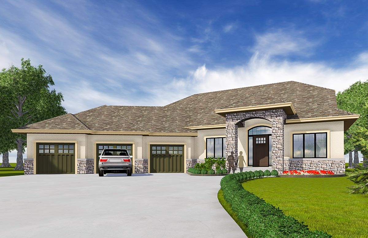 Northwest Home With Open Layout 81618ab Architectural