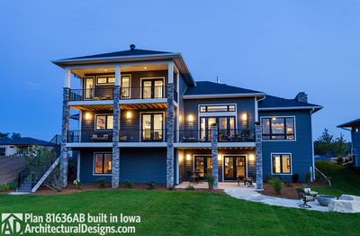 House Plan 81636AB Comes To Life In Iowa - photo 049