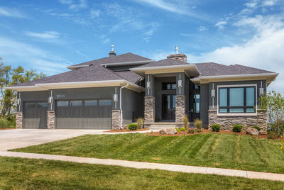 amazing prairie style home plan - 81636ab | architectural designs